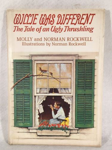 "HAND SIGNED ""Willie Was Different"" Molly & Norman Rockwell - Nice Hardcover Book"