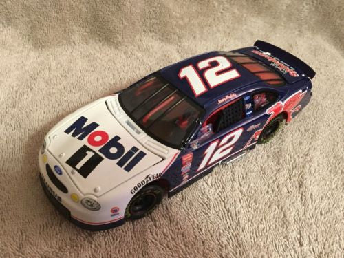 Action 1/24 Diecast #12 Jeremy Mayfield Mobil 1 1998 Ford Taurus Nascar   - TvMovieCards.com