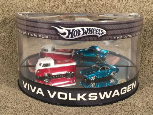 Hot Wheels Limited Edition Diecast 1/64 Viva Volkswagen Karman Ghia Bus Pickup   - TvMovieCards.com