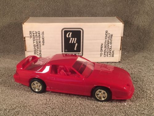 ERTL 1992 Camaro Z/28 Heritage Edition Dealer Promotional Model 6119 Bright Red   - TvMovieCards.com