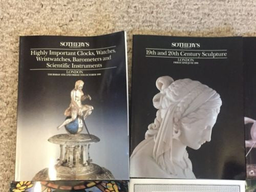 (6) Sotheby's Auction Catalog Lot Sculpture Decorative Arts American Silver   - TvMovieCards.com