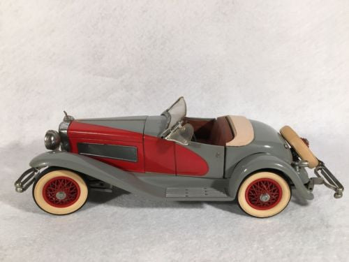 DANBURY MINT 1:24 Diecast Car 1935 DUESENBERG SSJ with box Weathered   - TvMovieCards.com