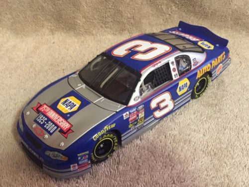 Action 1/24 Diecast #3 Ron Hornaday NAPA 75th Anniversary 2000 Monte Carlo   - TvMovieCards.com