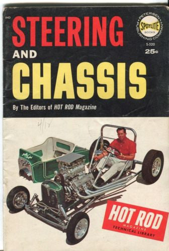 RARE Spotlite Hot Rod Magazine Steering and Chassis   - TvMovieCards.com