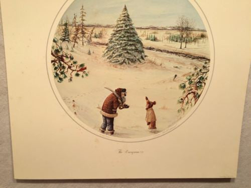 "James Milton Smith ""The Evergreen"" Signed Lithograph Print 616/750   - TvMovieCards.com"