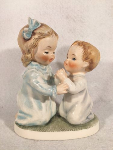 "1963 Goebel Hummel Figurine TMK5 BYI#46 ""The Way to Pray"" 4.75"""
