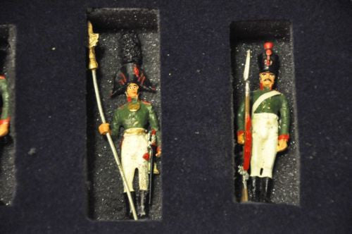 Rare MOSDEC Russian Toy Soldiers; Yakut Muskateers of 1806 Limited Edition   - TvMovieCards.com