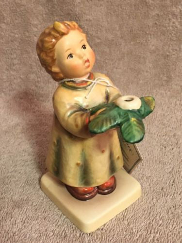 "Goebel Hummel Figurine #439 ""Gentle Glow"" TMK6 Germany 5.25"" Excellent Condition   - TvMovieCards.com"