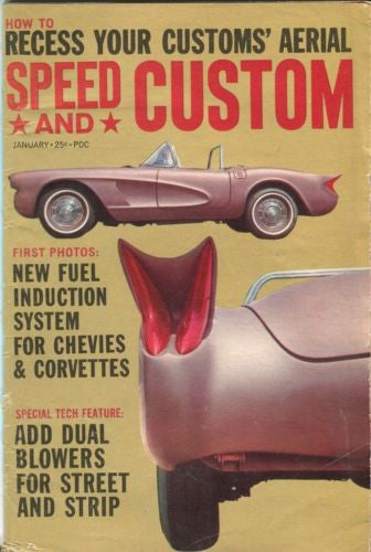 Speed and Custom August Digest Magazine New Fuel Induction Systems for Corvettes   - TvMovieCards.com