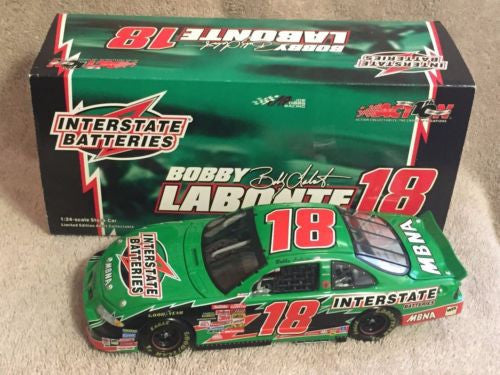 Action 1/24 Diecast #18 Bobby Labonte Interstate Batteries 2002 Grand Prix   - TvMovieCards.com