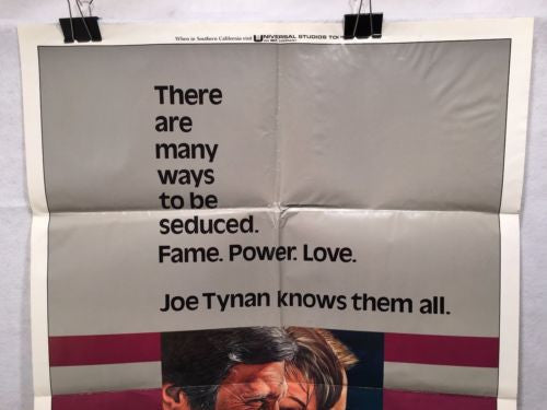 "Original 1977 ""Seduction of Joe Tynan"" 1 Sheet Movie Poster 27x 41"" Meryl Streep   - TvMovieCards.com"