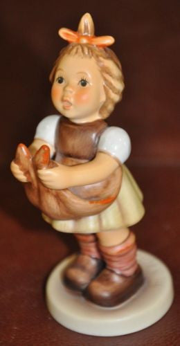 "Goebel Hummel Figurine #573 2/0 ""Loving Wishes""  TMK8 Germany 4.4""   - TvMovieCards.com"