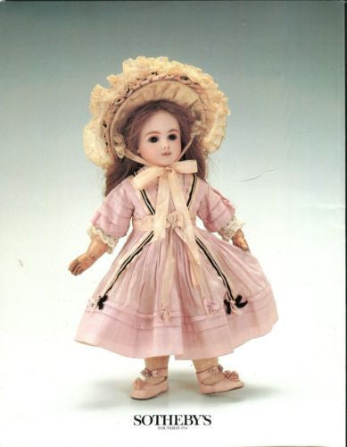 Sotheby's Auction Catalog September 4 1990 - Fine Dolls Teddy Bears Automata   - TvMovieCards.com