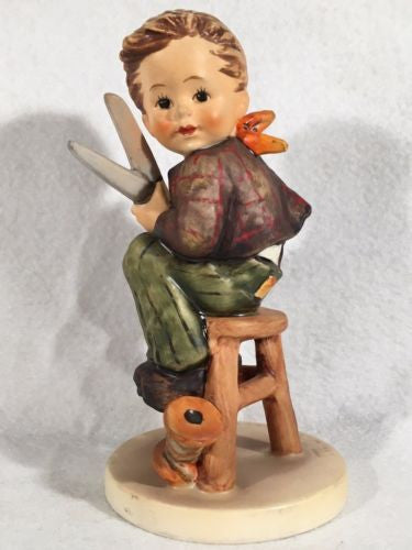"1972 Goebel Hummel Figurine TMK5 #308 ""Little Tailor"" 5.75"" Tall"