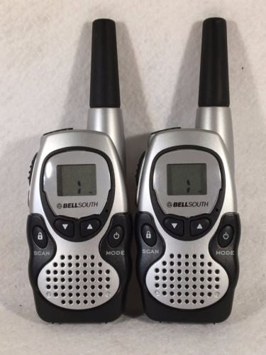 BELLSOUTH 22-Channel Two-Way Radios Walkie Talkies 2104BK   - TvMovieCards.com