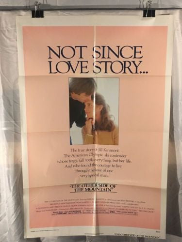 "Original 1975 ""The Other Side of the Mountain"" 1 Sheet Movie Poster 27""x 41""   - TvMovieCards.com"