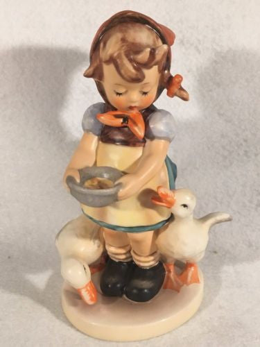 "Goebel Hummel Figurine TMK5 #197/I ""Be Patient"" 6.25"" Tall"