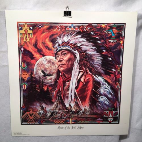 Spirit of the Full Moon (1993) - Bruce Lakofka Lithograph Poster 23 x 24   - TvMovieCards.com