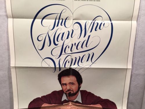 "Original 1983 ""The Man Who Loved Women"" 1 Sheet Movie Poster 27""x 41""   - TvMovieCards.com"