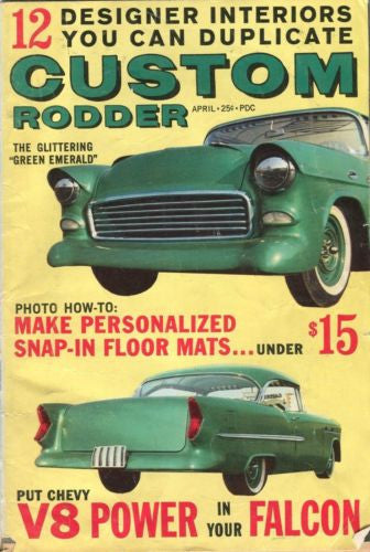 "Custom Rodder Automotive Enthusiast Digest Magazine ""Green Emerald""   - TvMovieCards.com"