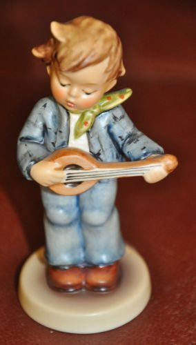 "Goebel Hummel Figurine #558 ""Little Troubadour""  TMK7 Germany 4""   - TvMovieCards.com"