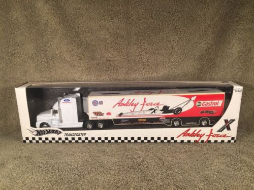 Hot Wheels Ashley Force Event Transporter Brand new in Box   - TvMovieCards.com