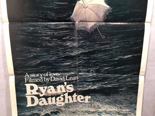 "Original 1970 ""Ryan's Daughter"" 1 Sheet Movie Poster 27x 41"" Robert Mitchum   - TvMovieCards.com"