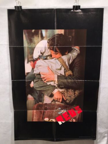 "Original 1981 ""Reds"" 1 Sheet Movie Poster 27""x 41"" Warren Beatty Diane Keaton   - TvMovieCards.com"