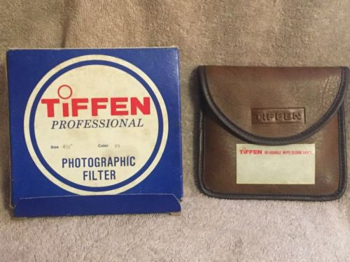 "Tiffen Professional Photographic Filter 4.5"" 4 1/2 Color - 85   - TvMovieCards.com"