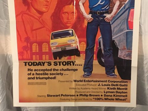 "Original 1981 ""Rivals"" 1SH Sheet Movie Poster 27""x 41"" Ford Econoline   - TvMovieCards.com"