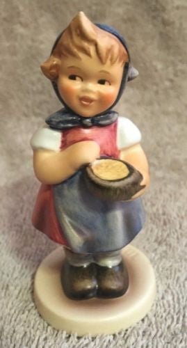 "Goebel Hummel Figurine TMK7 629 ""From Me to You"" 3.5""   - TvMovieCards.com"