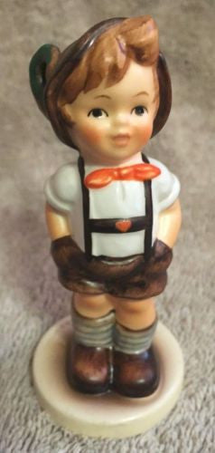 "Goebel Hummel Figurine TMK7 630 ""For Keeps"" Hummel Club 3.5""   - TvMovieCards.com"