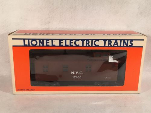 Lionel O Scale 6-17600 New York Central Wood-Sided Caboose