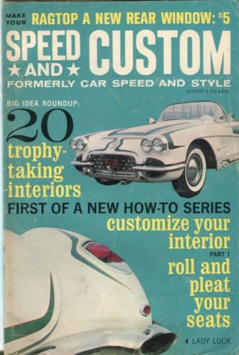 Speed and Custom August Digest Magazine 20 Trophy-Taking Interiors   - TvMovieCards.com