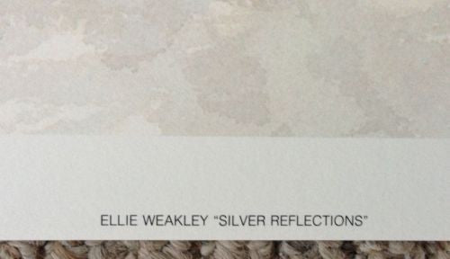 "Ellie Weakley ""Silver Reflections"" Lithograph Print Number/Signed   - TvMovieCards.com"