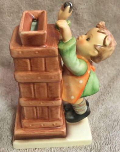 "Goebel Hummel Figurine TMK7 118 ""Little Thrifty"" with Key 5""   - TvMovieCards.com"