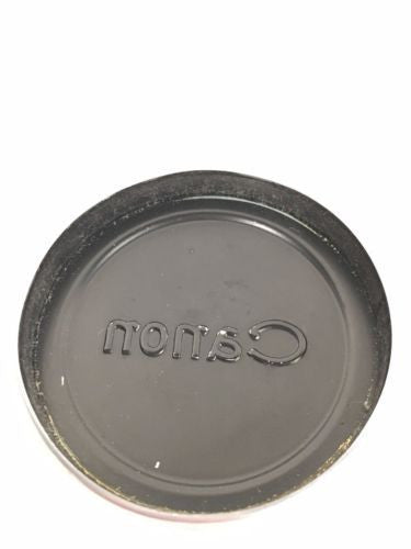 Genuine Canon 52mm Metal Slip Over Lens Cap / Cover   - TvMovieCards.com