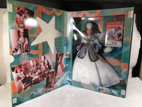Hollywood Legends Barbie as Scarlett O'Hara - Gone With The Wind - Mattel 1994   - TvMovieCards.com