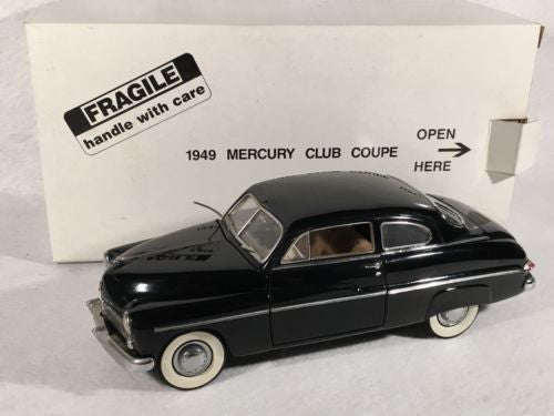 DANBURY MINT 1:24 Diecast Car 1949 Mercury Club Coupe   - TvMovieCards.com