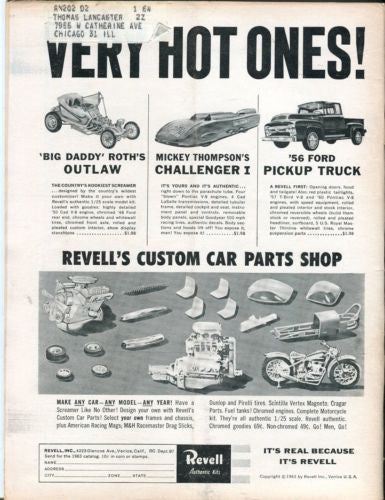 1963 March Rod & Custom Magazine Back Issue - Barris Builds A Custom for Ford   - TvMovieCards.com