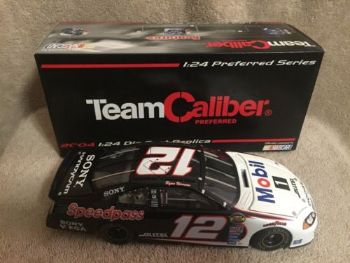 Team Caliber 1/24 Diecast Nascar #12 Ryan Newman Alltel Mobile 1 2004 Dodge