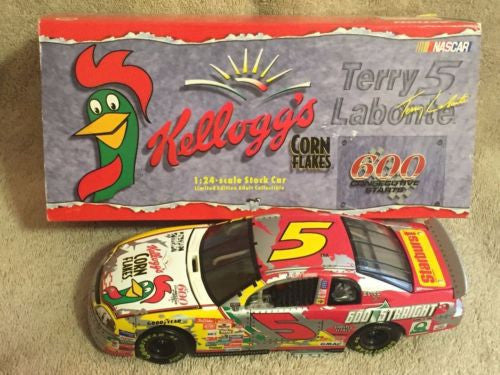 Action 1/24 Diecast #5 Terry Labonte Kellogg's Iron Man 1998 Monte Carlo