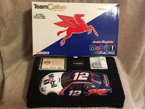 Team Caliber 1/24 Diecast #12 Jeremy Mayfield Mobil 1 2000 Ford Taurus New   - TvMovieCards.com