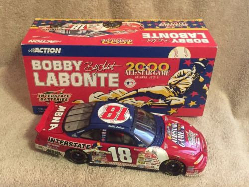 Action 1/24 Diecast #18 Bobby Labonte Interstate Batteries MLB AllStar Game 2000