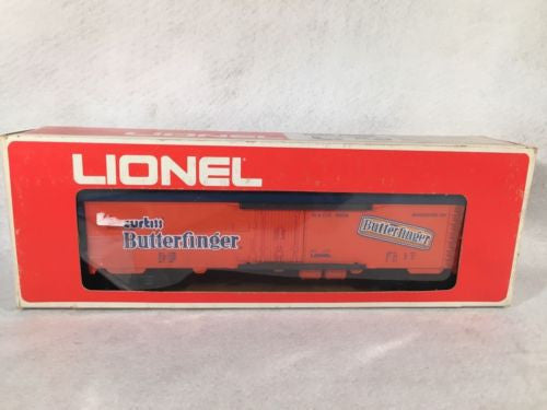 Lionel O Scale 6-9858 Butterfinger Billboard Reefer Box Car   - TvMovieCards.com