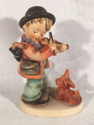 "Goebel Hummel Figurine TMK5 #1 ""Puppy Love"" 5"" Tall"