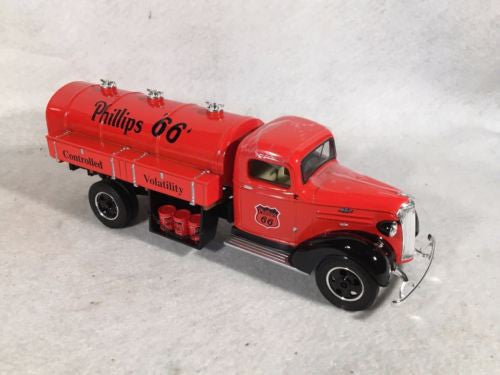 1st First Gear 1/34 1937 Phillips 66 Chevy Fuel Tanker Truck Stock No. 19-2693   - TvMovieCards.com