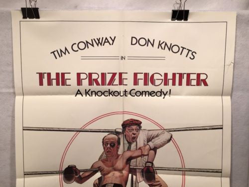 "Original 1979 ""The Prize Fighter"" 1 Sheet Movie Poster 27""x 41"" Don Knotts   - TvMovieCards.com"