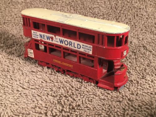 Matchbox Models of Yesteryear No 3 London Transport City Rail News of the World   - TvMovieCards.com