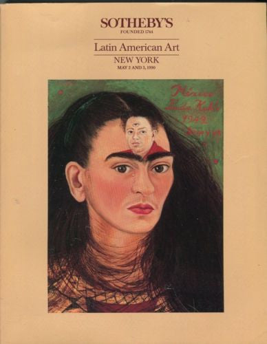 Sotheby's Auction Catalog May 2 & 3 1990 - Latin American Art   - TvMovieCards.com
